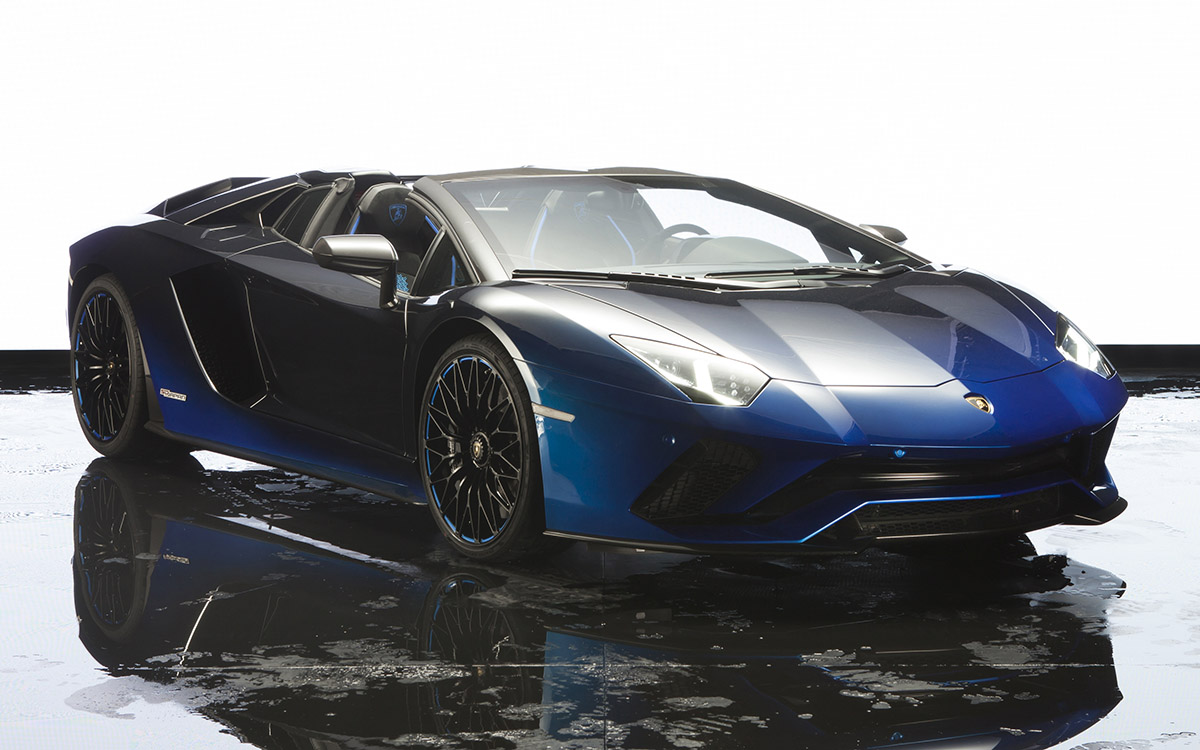 Aventador S Roadster 50th Anniversary Japan Edition frente 3 4 fx