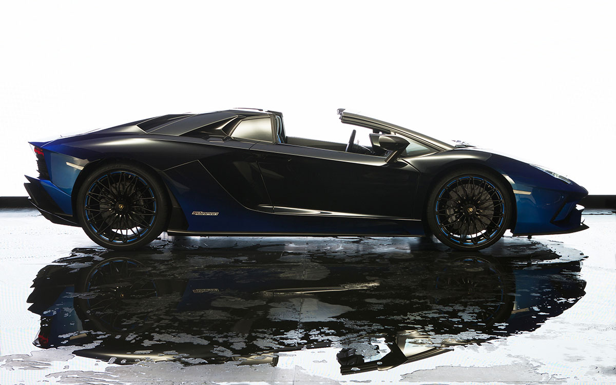 Aventador S Roadster 50th Anniversary Japan Edition lateral fx