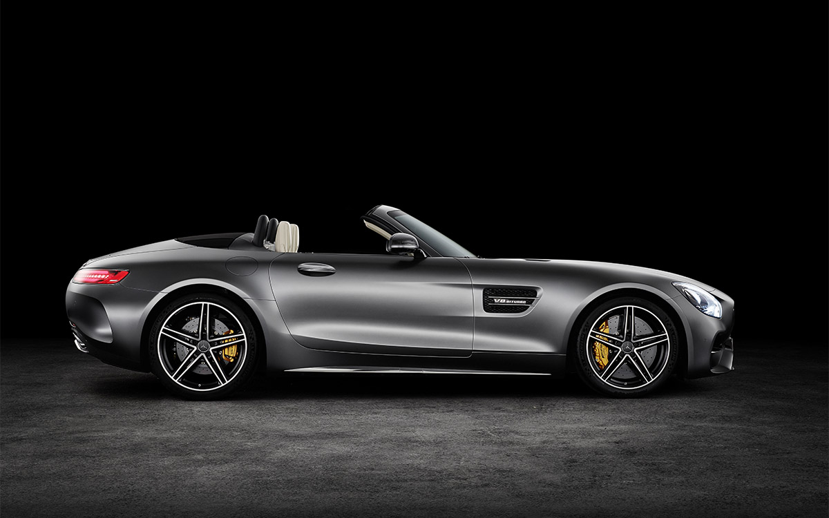 Mercedes AMG GT Roadster Lateral fx
