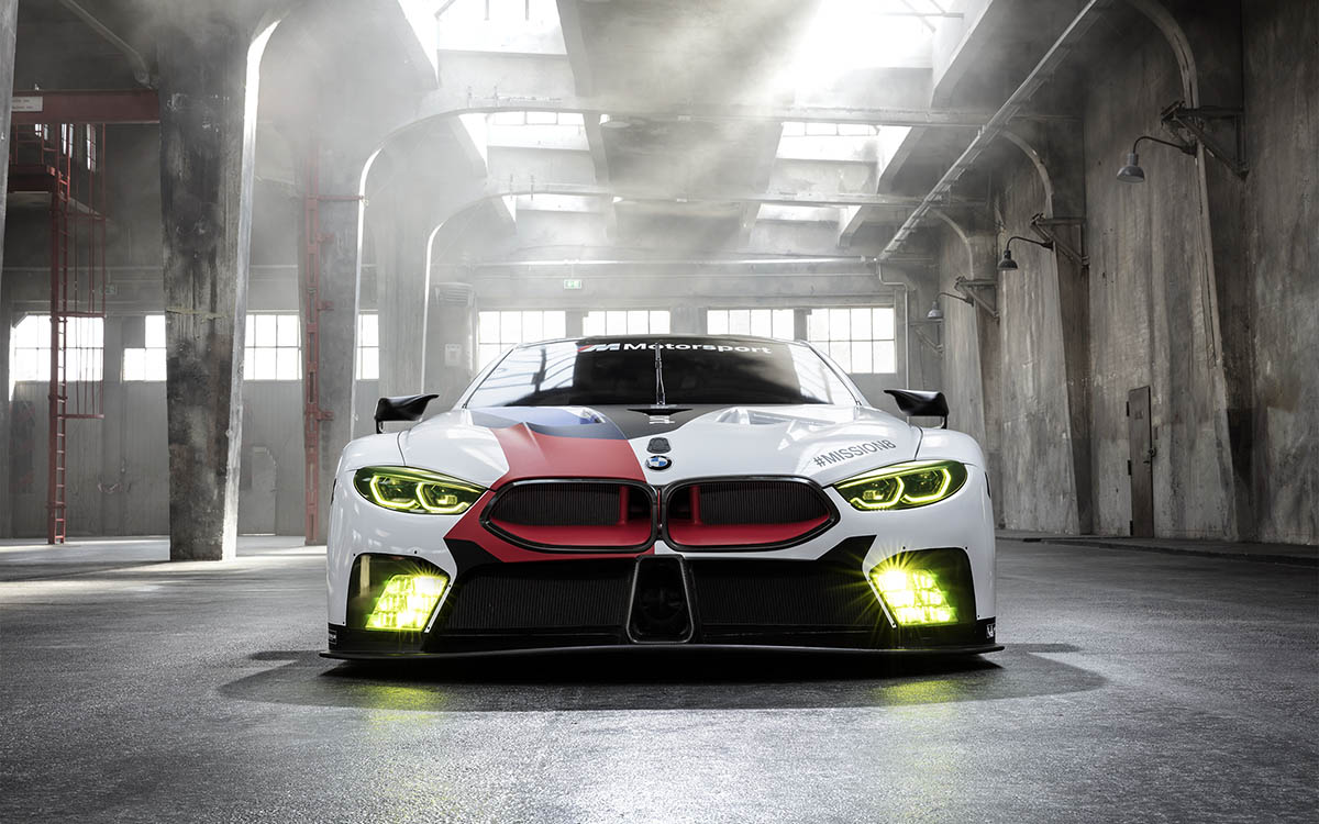 BMW M8 GTE frontal fx