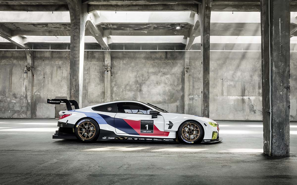 BMW M8 GTE lateral fx