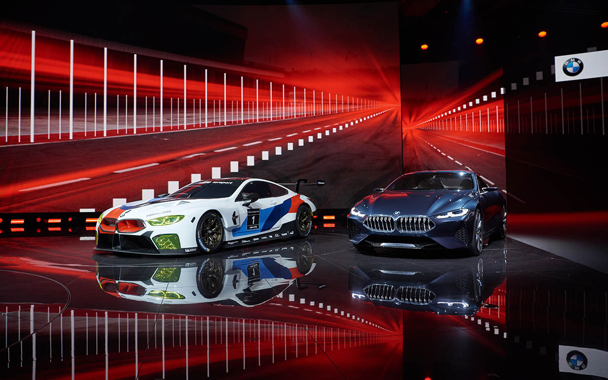 BMW M8 GTE salon fx