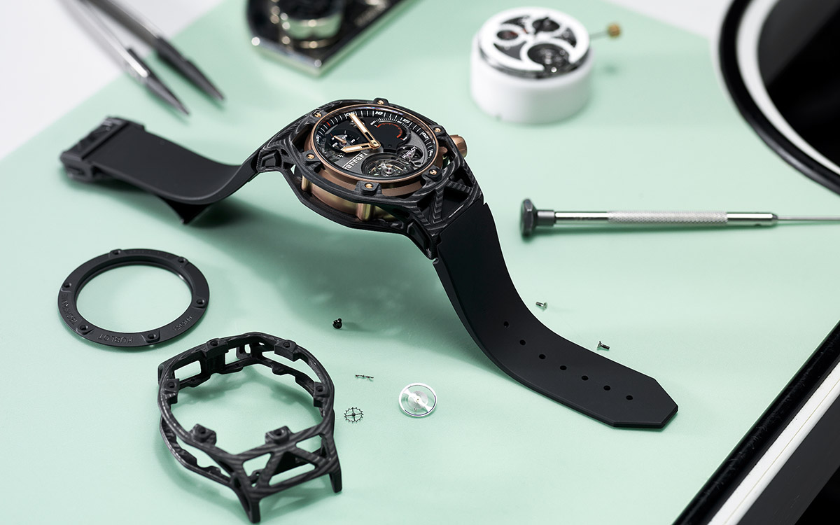 Hublot Techframe Ferrari 70 Years banco fx