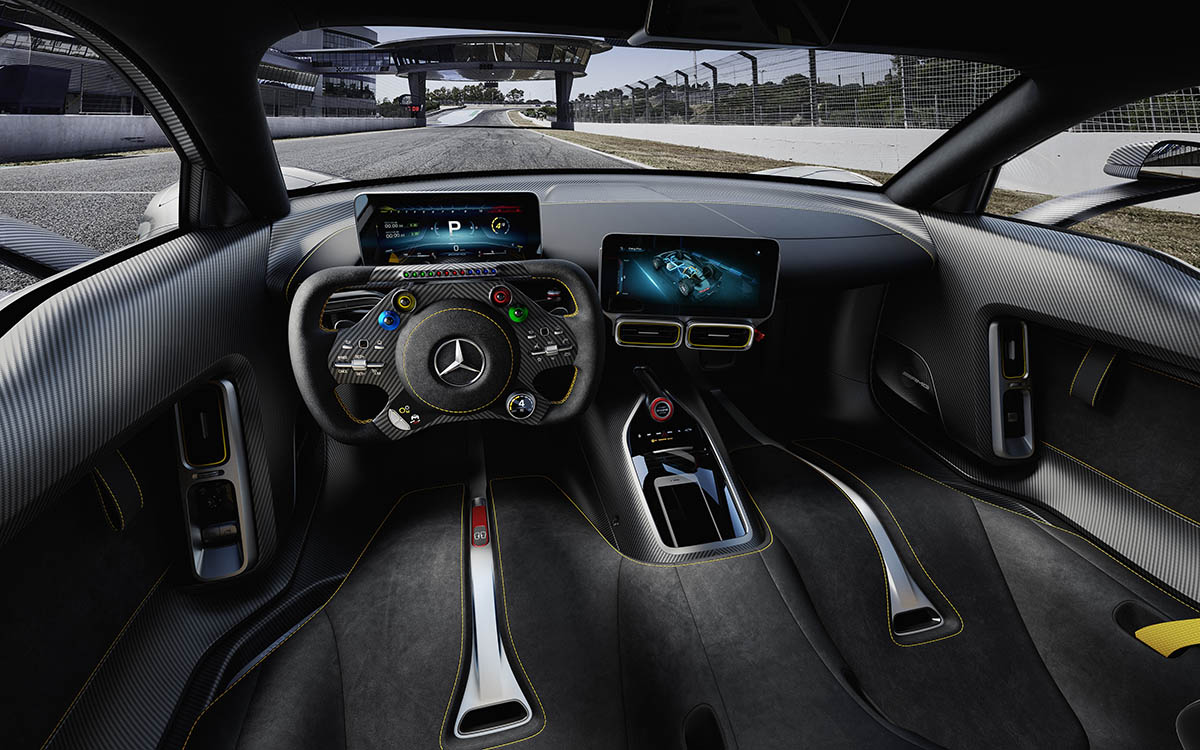 Mercedes AMG Project ONE interior fx