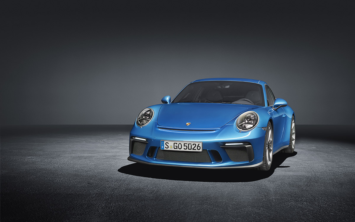 911 GT3 Touring Package frente fx