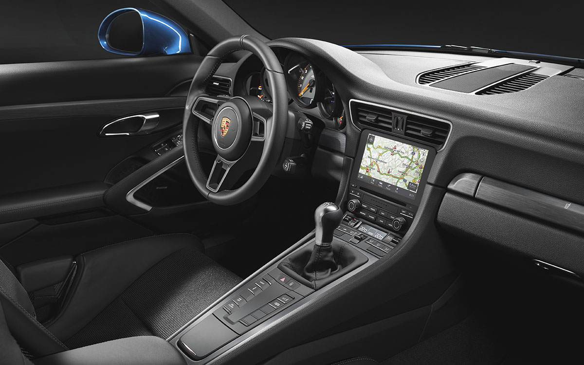 911 GT3 Touring Package interior fx