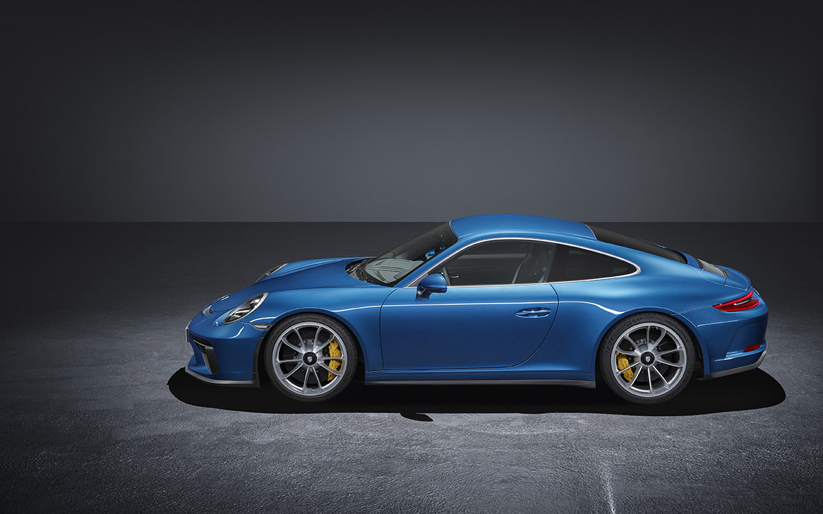 911 GT3 Touring Package lateral fx