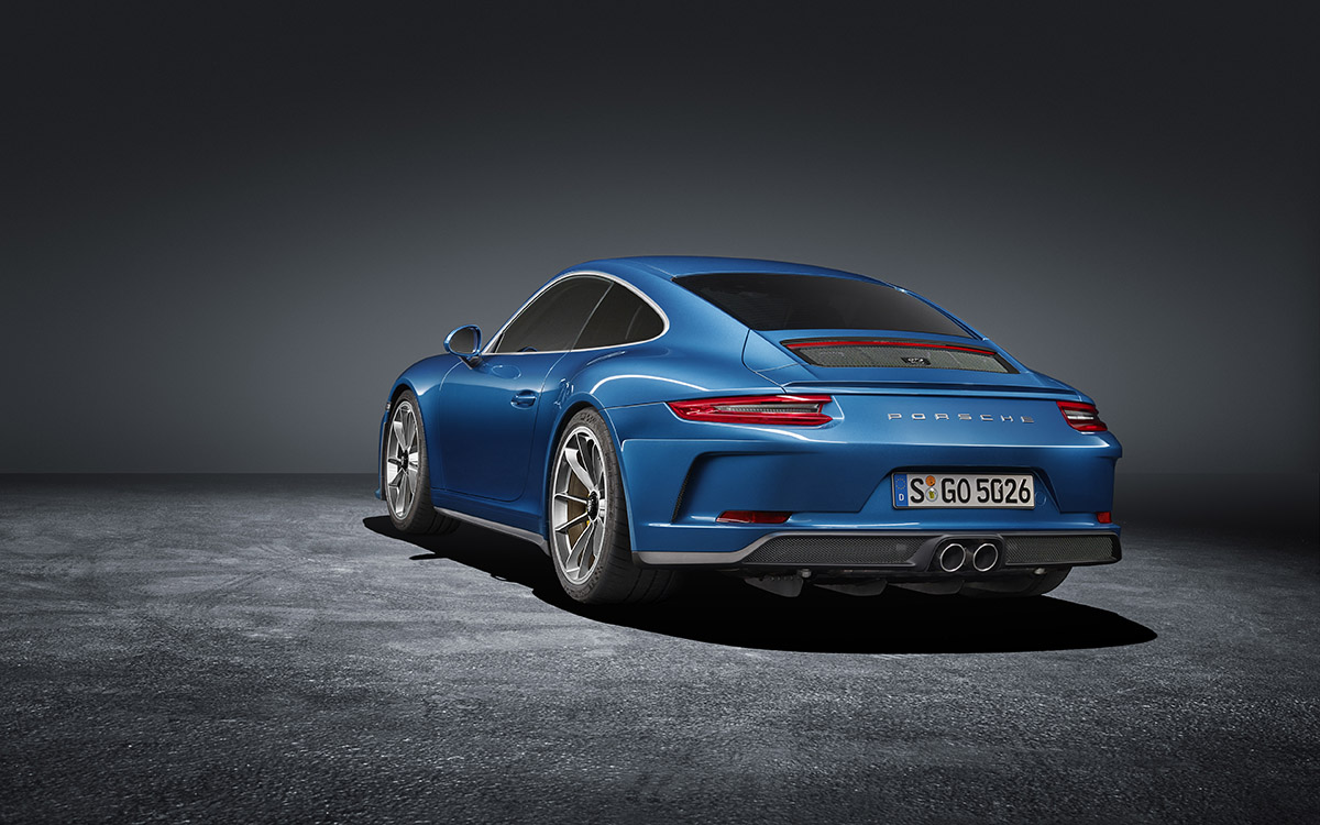 911 GT3 Touring Package lateral trasera fx