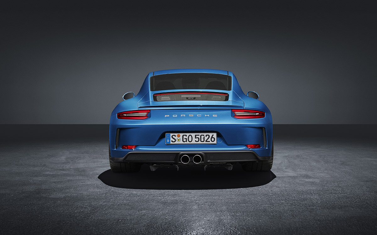 911 GT3 Touring Package trasera fx