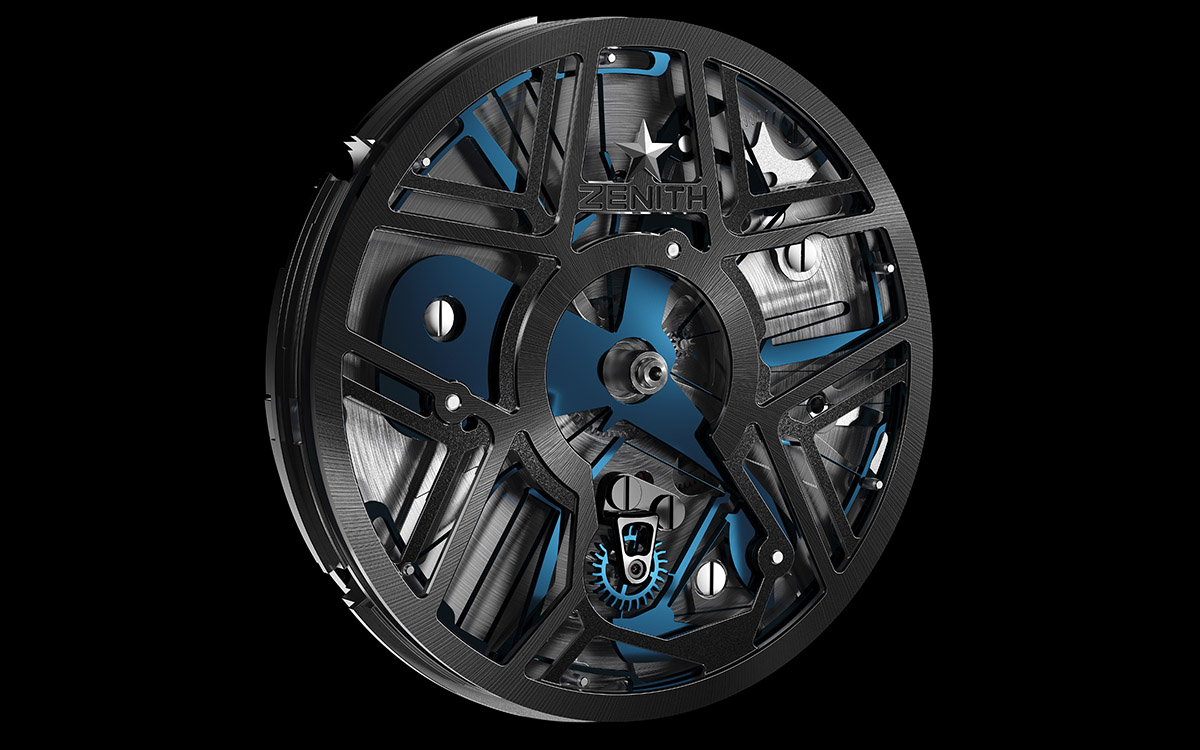 ZENITH Defy Lab B Mouvement fx