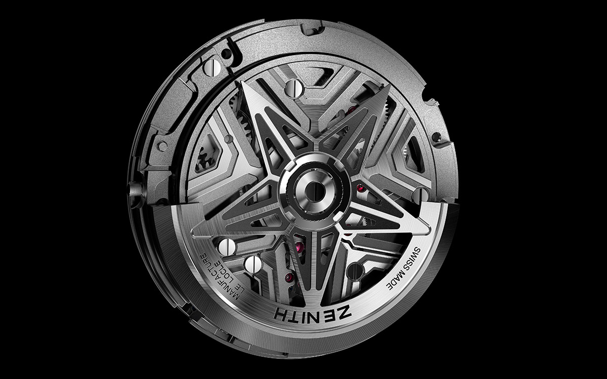 ZENITH Defy Lab B Mouvement star fx