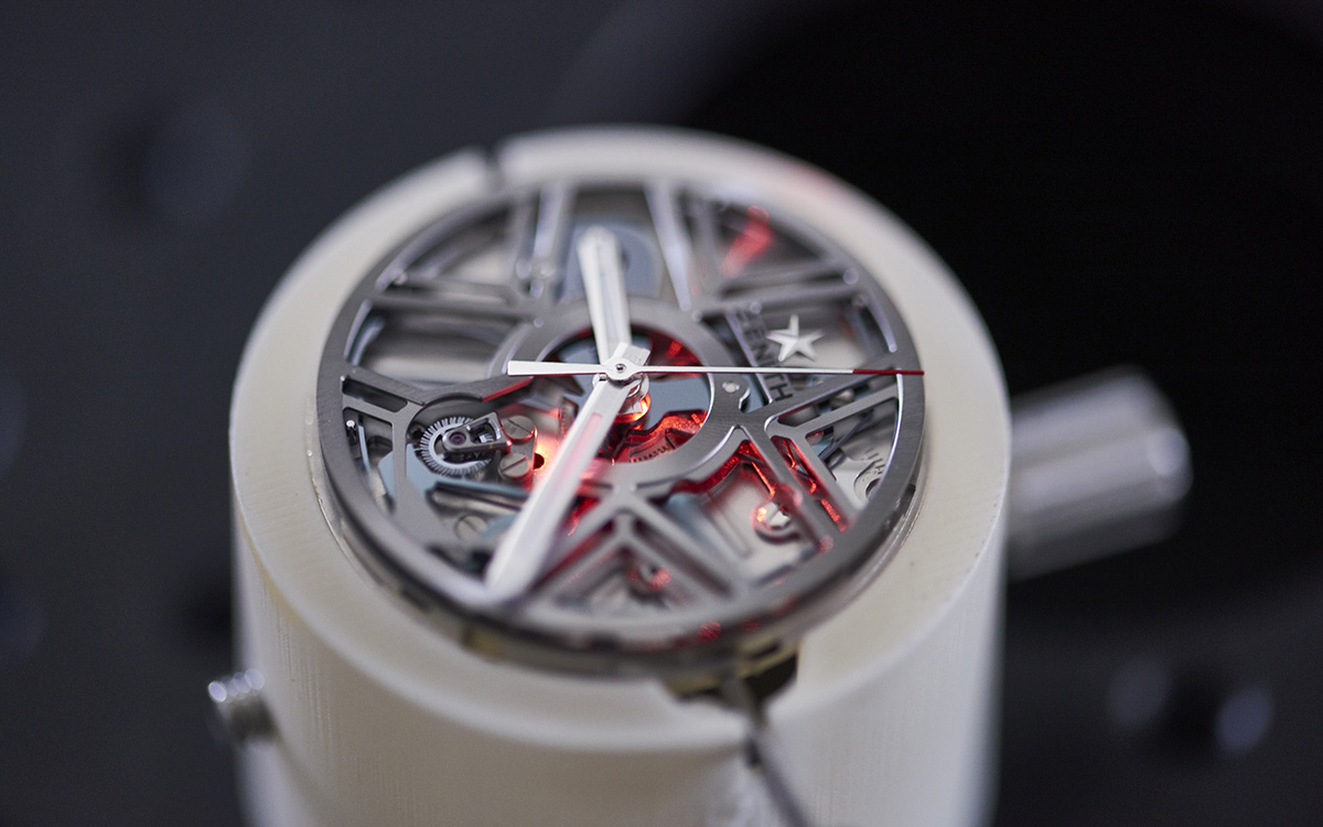 ZENITH Defy Lab C Production Mouvement laser fx