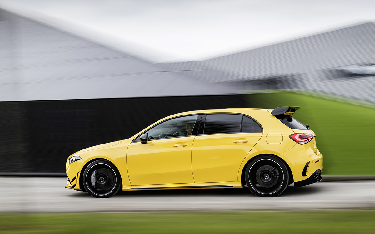Mercedes AMG A 35 4MATIC lateral fx