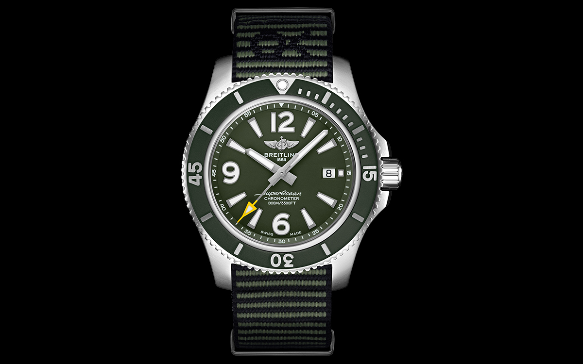 Breitling Superocean Outerknown frontal fx