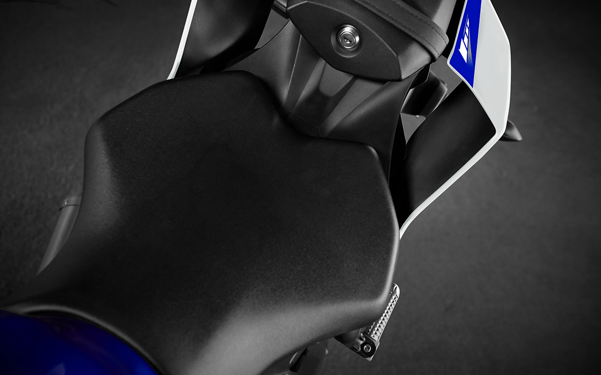 Yamaha YZF R6 asiento fx
