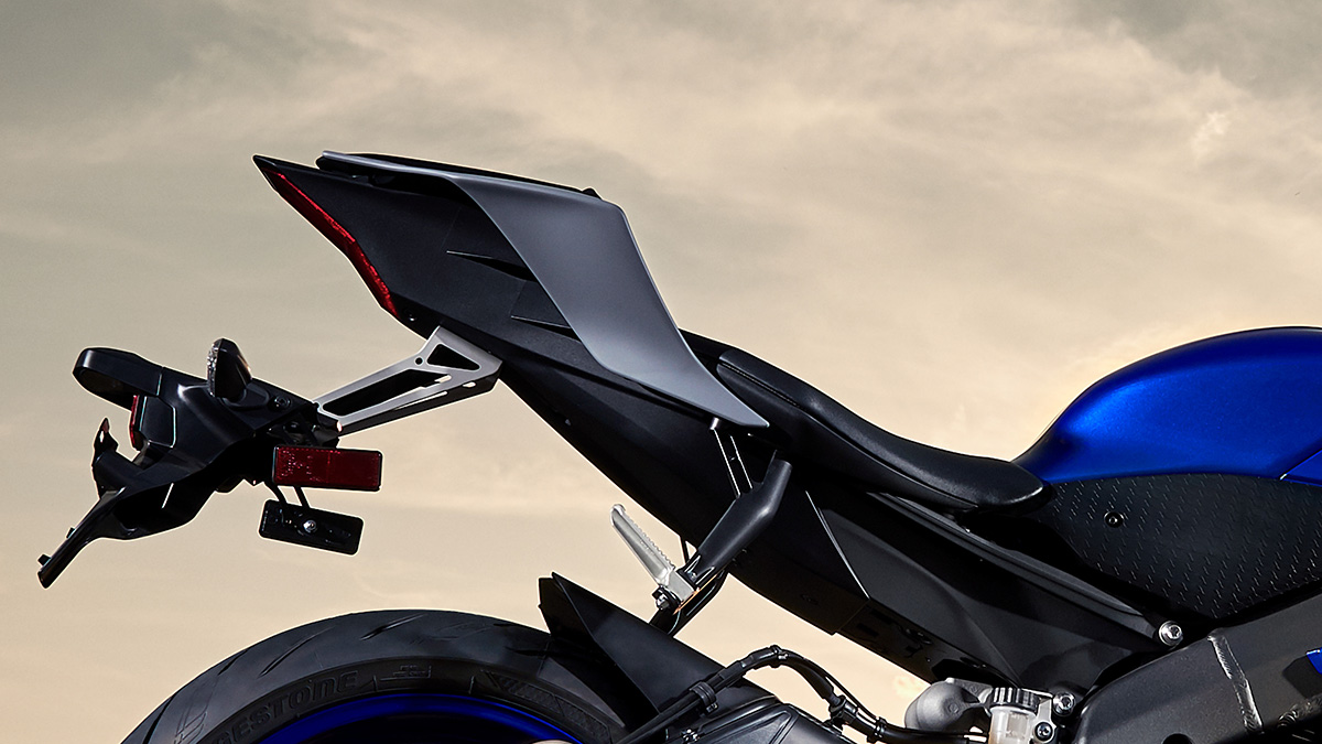Yamaha YZF R6 detalle lateral fx