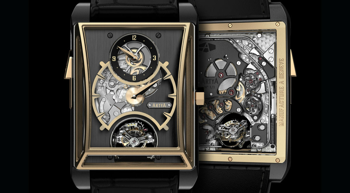 ArtyA 3 Gongs Minute Repeater