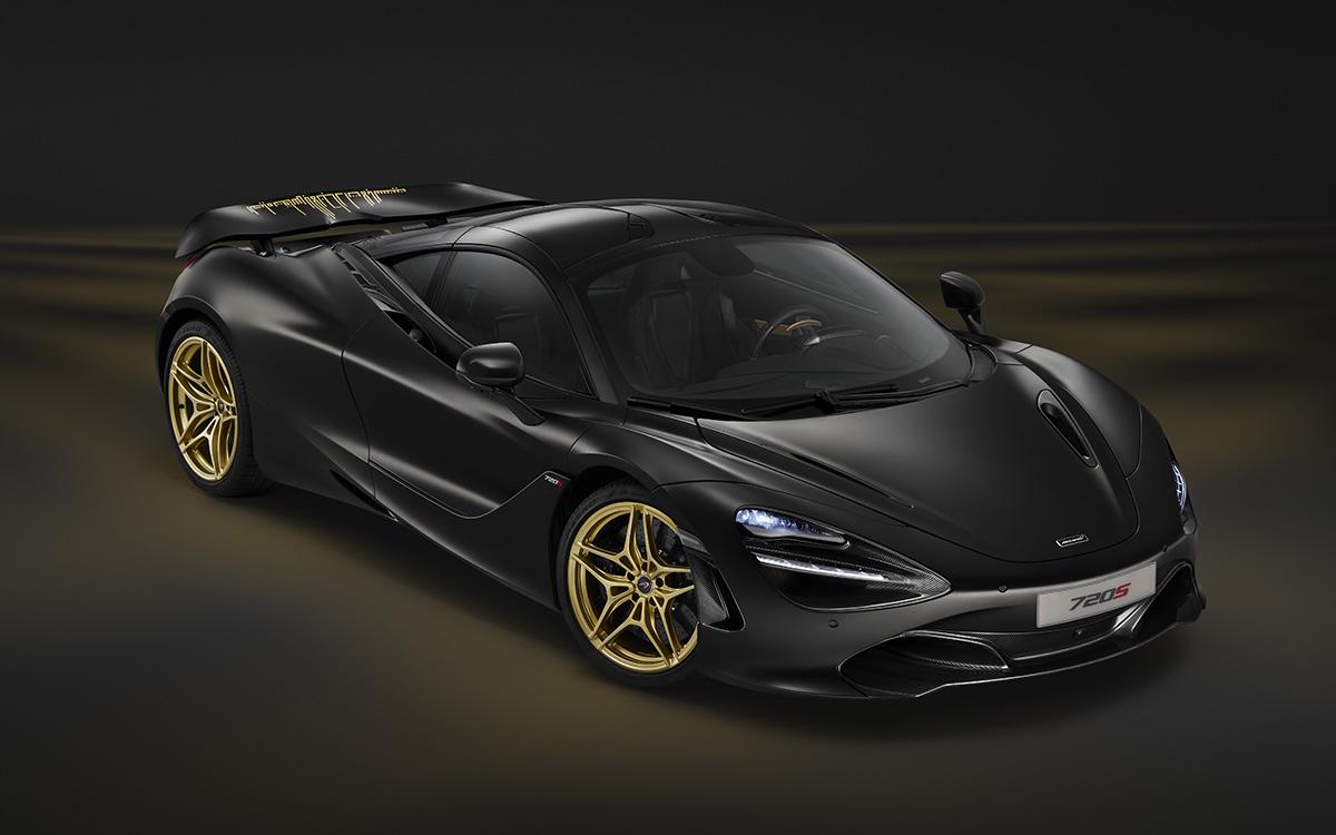 McLaren 720S MSO Satin Black