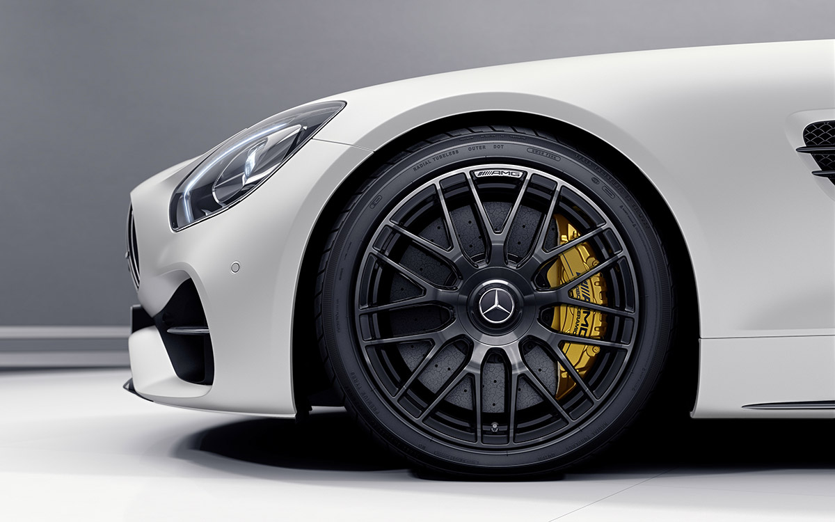 Mercedes Benz AMG GT C Roadster 50 Edition