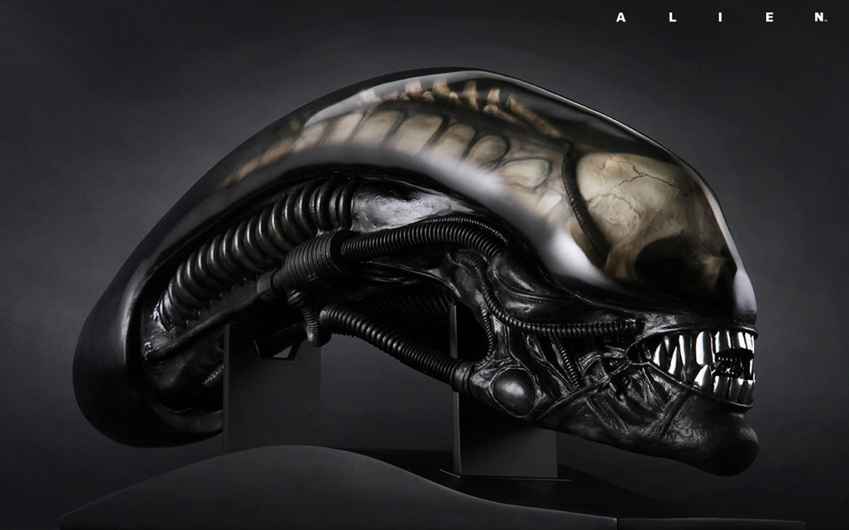 Giger Alien Head by CoolProps