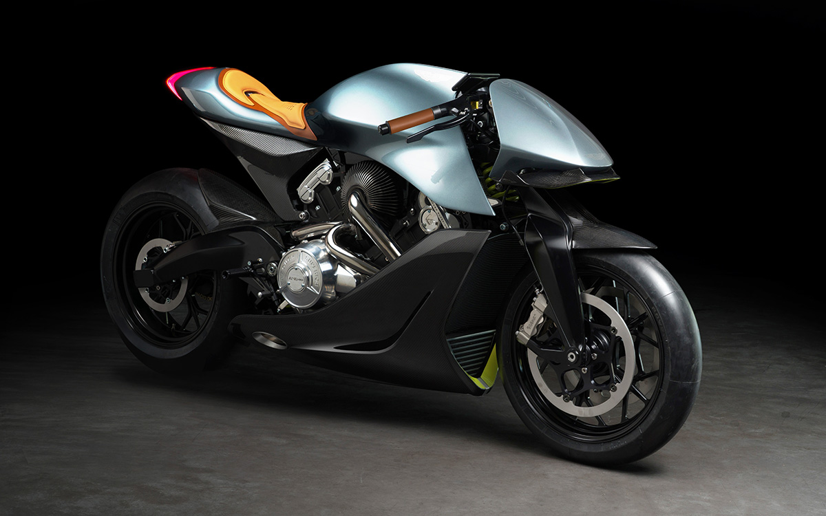 Aston Martin Limited Edition Motorcycle