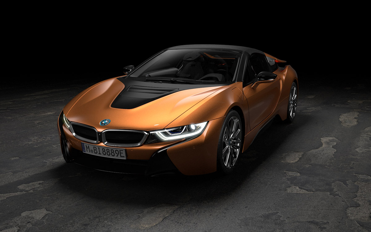 BMW i8 Roadster y Coupé