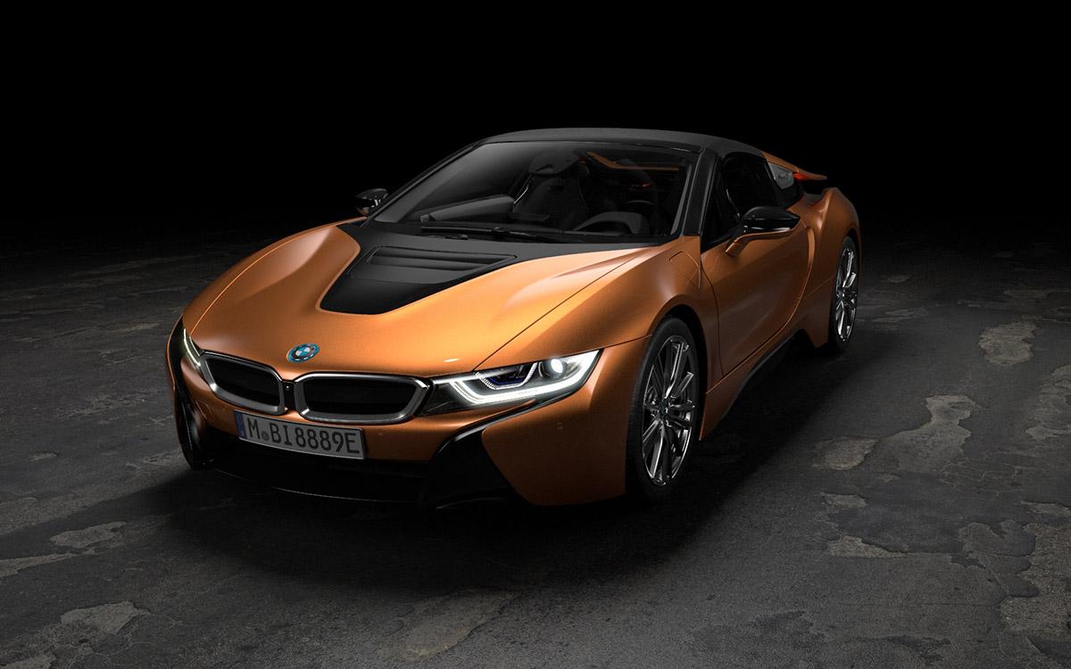 BMW i8 Roadster y Coupé
