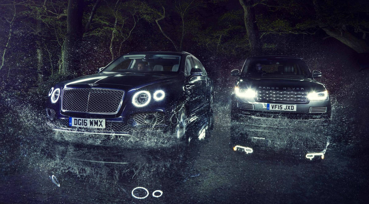 Bentley Bentayga vs Range Rover SVA