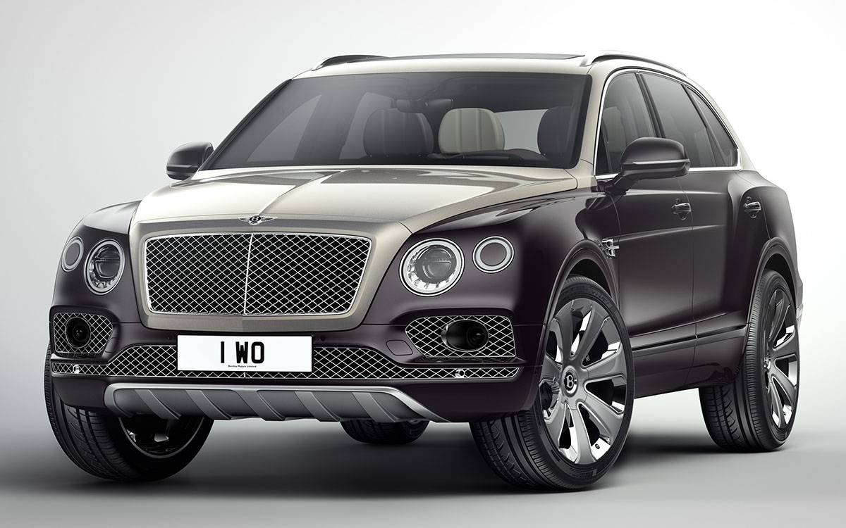 Bentley Bentayga Mulliner Ultimate Luxury SUV