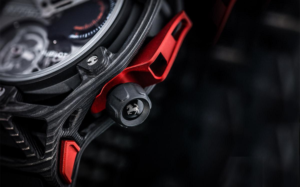 Hublot Techframe Ferrari Tourbillon Chronograph