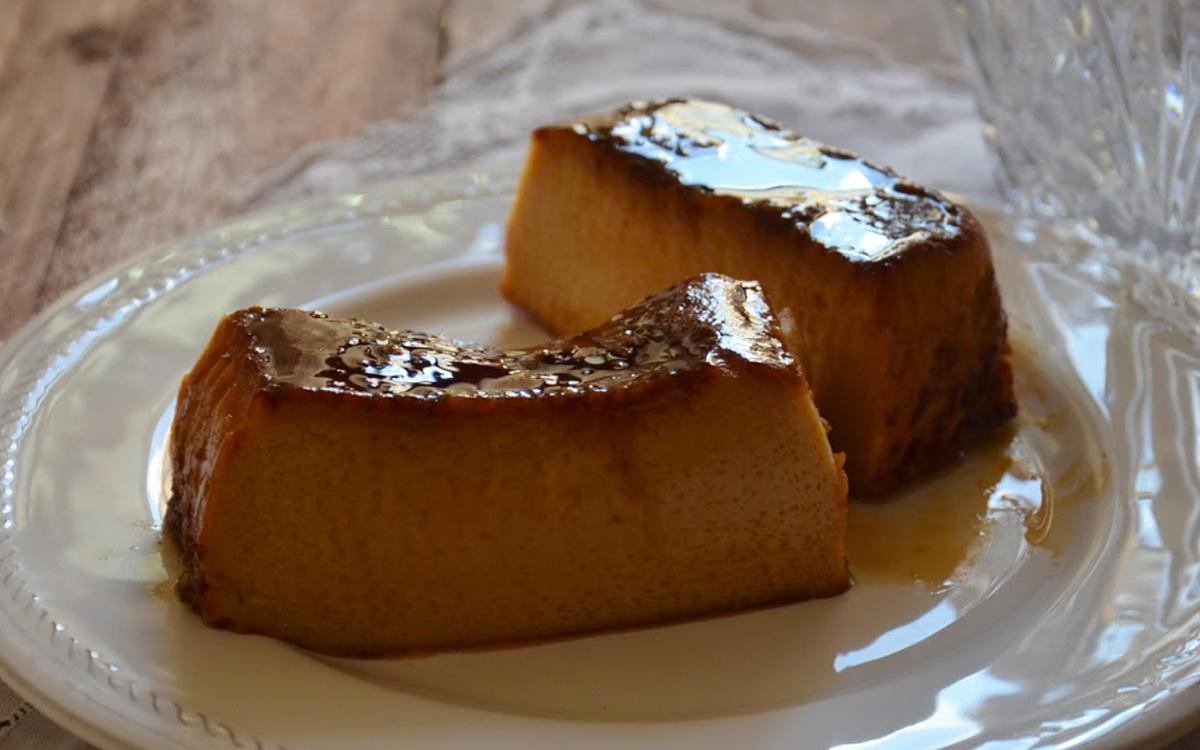 Flan de dulce de leche (casero)