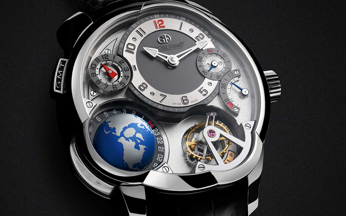 Greubel Forsey GMT Platinum Black