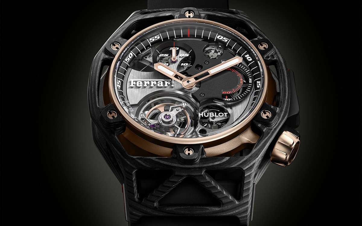 Hublot Techframe Ferrari 70 Years