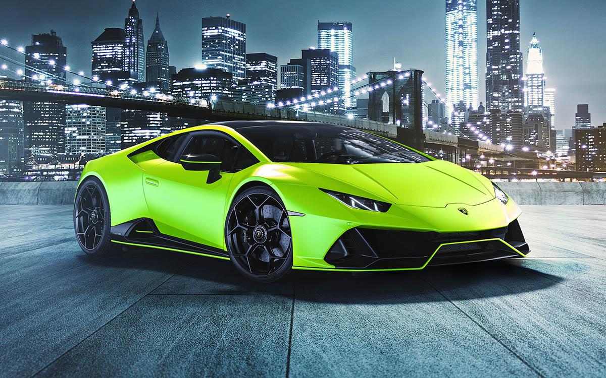 Lamborghini Huracán EVO Fluo