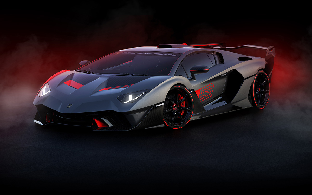 Lamborghini SC18 Squadra Corse