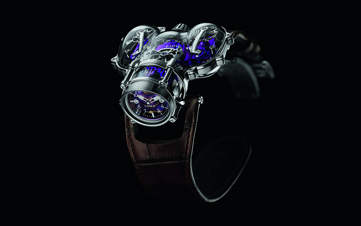 MB&F HM9-SV Sapphire Vision