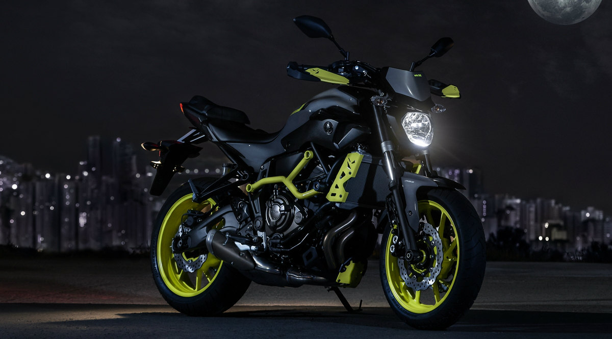 Yamaha MT Moto Cage Night Fluo