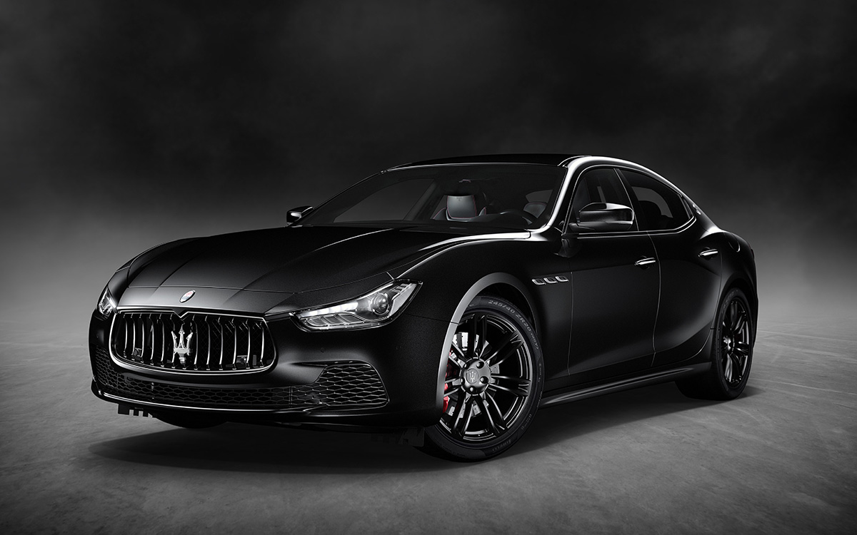 Maserati Ghibli Nerissimo Black Edition
