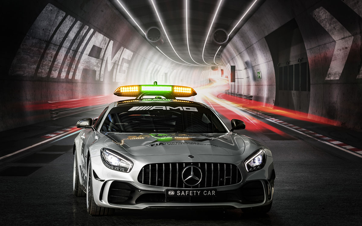 Mercedes AMG Safety Car GT R