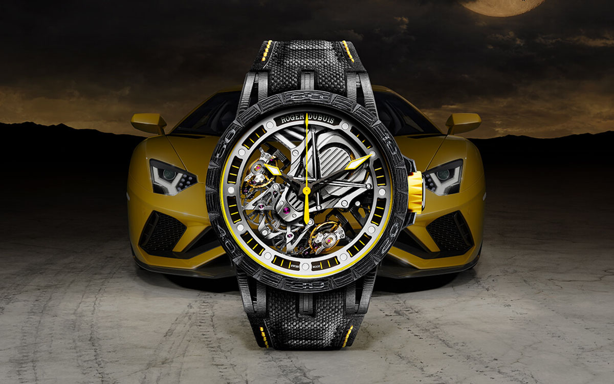 Excalibur Aventador S by Roger Dubuis