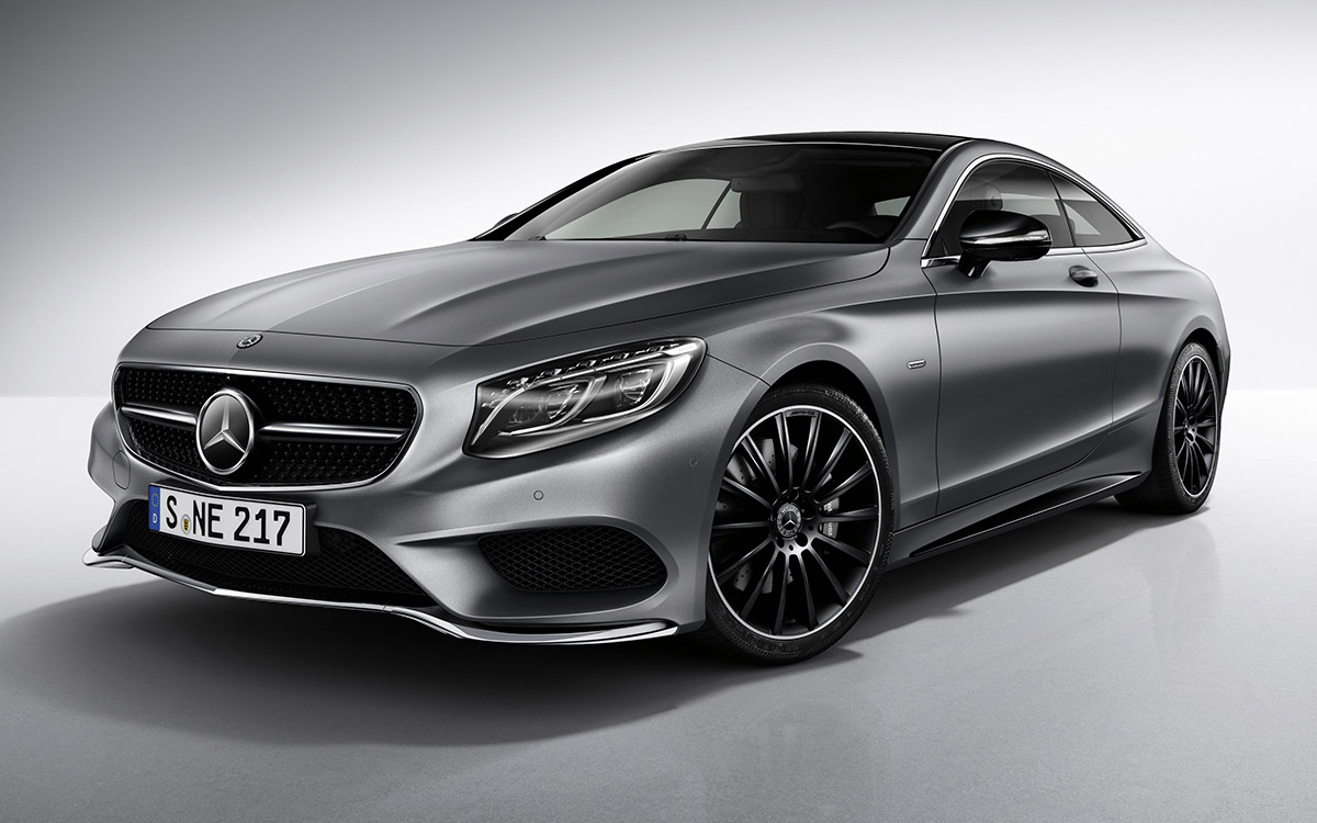 Mercedes-Benz S-Class Coupe Night Edition Exclusive