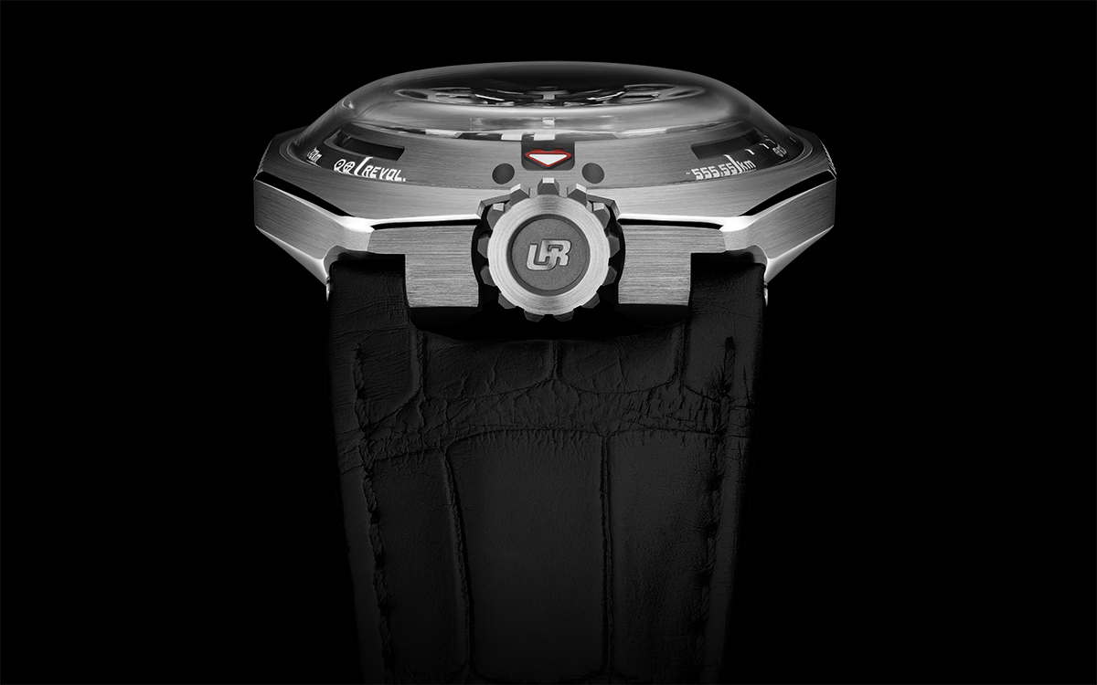 URWERK UR-100 Black / Iron