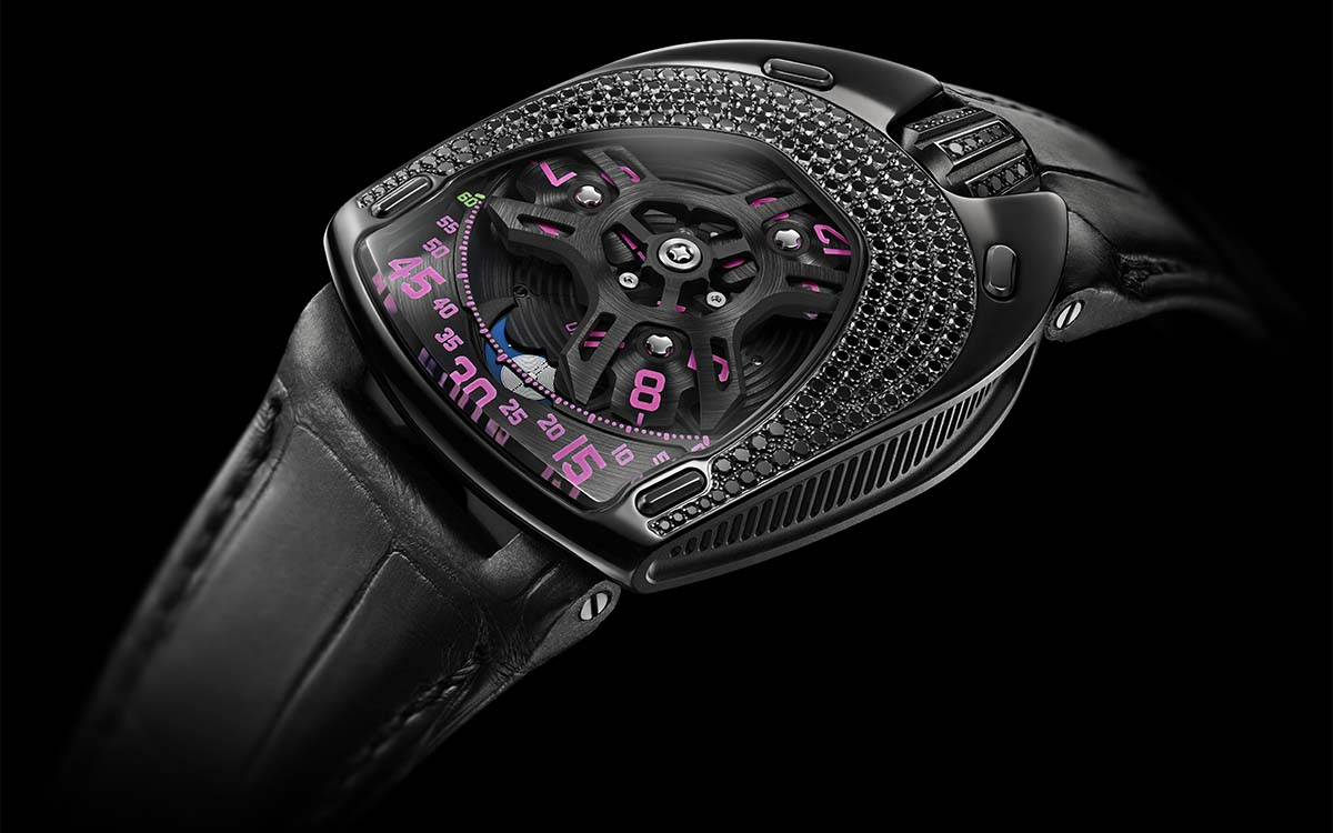 Urwerk UR-106 Black Pink / Lotus Diamond / Duo