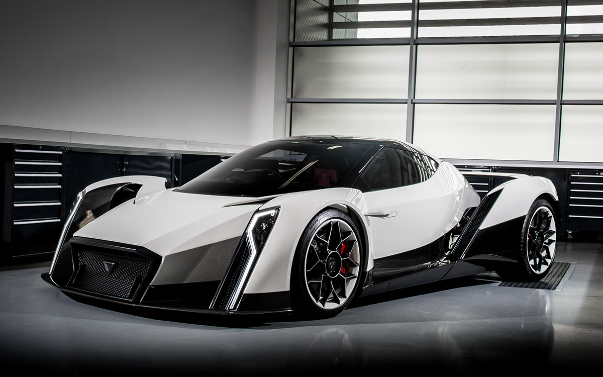 Dendrobium Motors Electric Hypercar